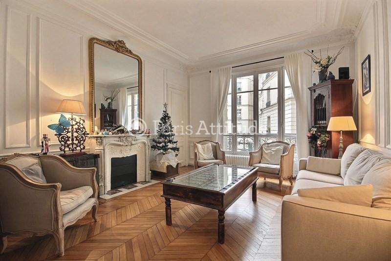 Location Appartement 3 Chambres 117m² avenue des Ternes, 75017 Paris