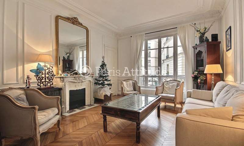 Rent Apartment 3 Bedrooms 117m² avenue des Ternes, 17 Paris