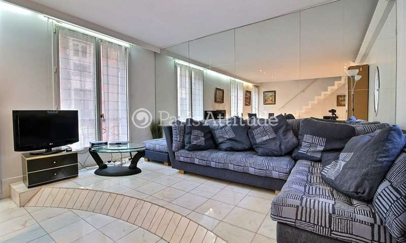Rent Duplex 2 Bedrooms 93m² rue Lauriston, 16 Paris