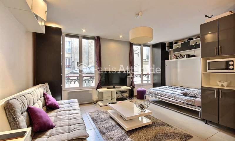 Rent Apartment Studio 27m² rue des Trois Bornes, 75011 Paris