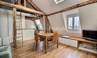 Rent Apartment 2 Bedrooms 58m² passage Choiseul, 2 Paris