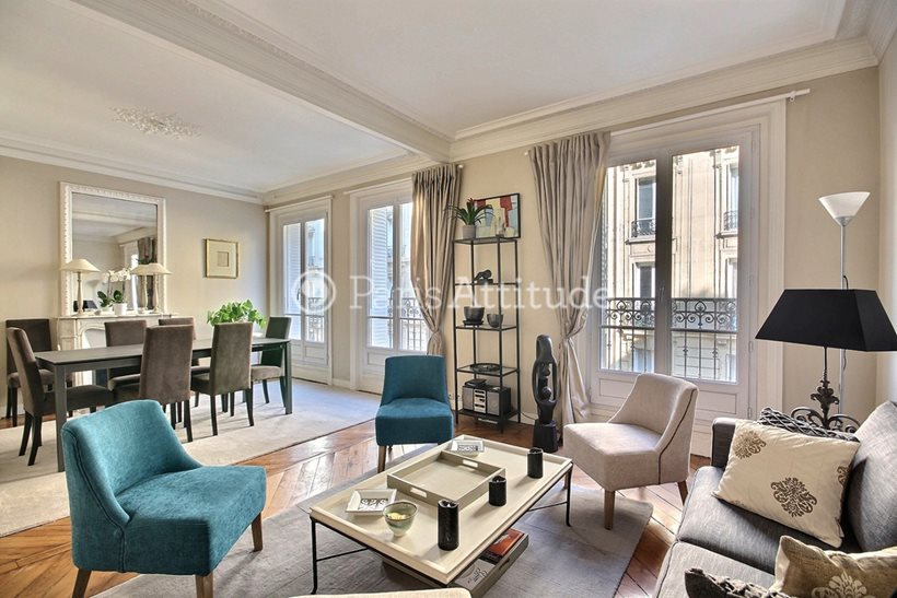 Rent furnished Apartment 2 Bedrooms 80m² rue Ruhmkorff, 75017 Paris