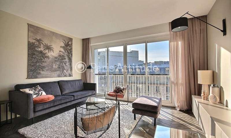 Rent Apartment 1 Bedroom 53m² avenue George V, 75008 Paris