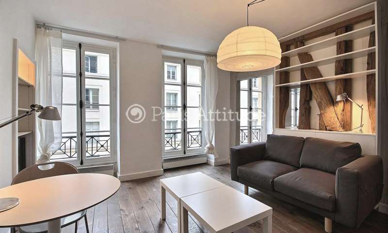 Rent Apartment 1 Bedroom 32m² rue de Turenne, 75004 Paris