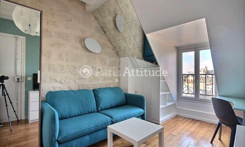 Rent Apartment Studio 16m² rue Vauquelin, 75005 Paris