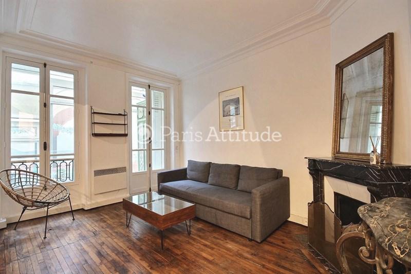 Rent Apartment Alcove Studio 40m² avenue des Ternes, 75017 Paris