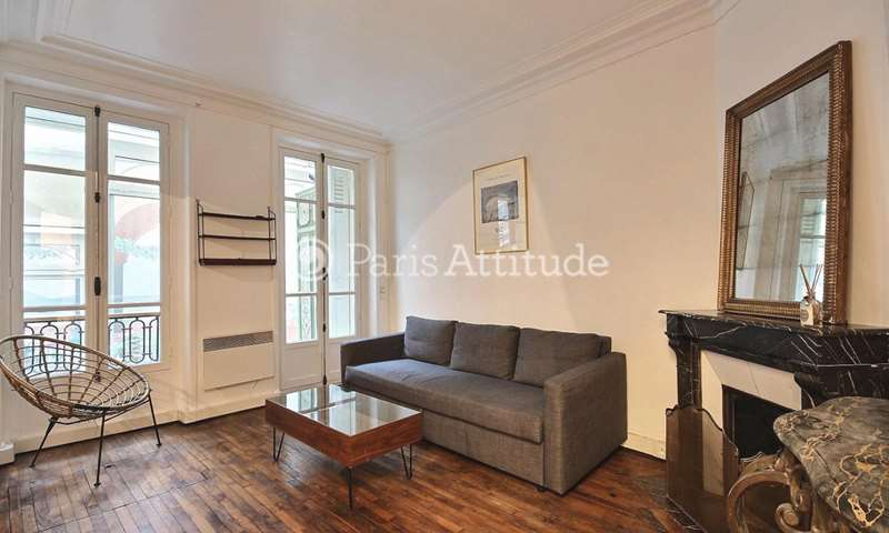 Location Appartement Alcove Studio 40m² avenue des Ternes, 75017 Paris