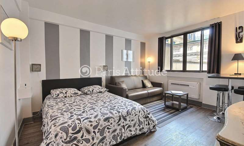 Location Appartement Studio 26m² rue Boissiere, 16 Paris