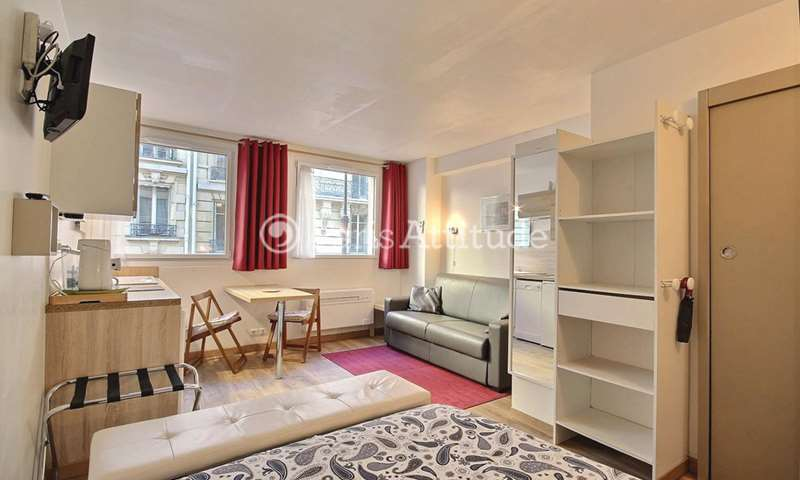 Location Appartement Studio 22m² rue Boissiere, 16 Paris