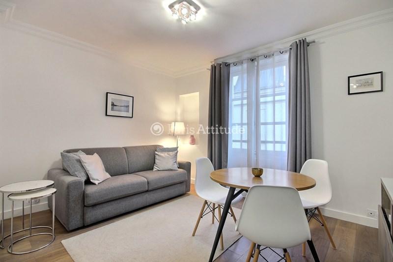 Rent Apartment Studio 24m² rue des Francs Bourgeois, 75003 Paris