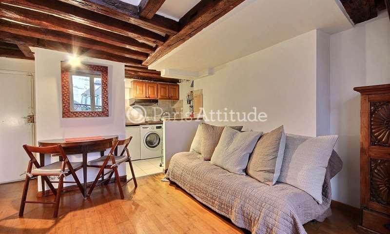 Location Duplex 1 Chambre 20m² rue du Roi de Sicile, 75004 Paris