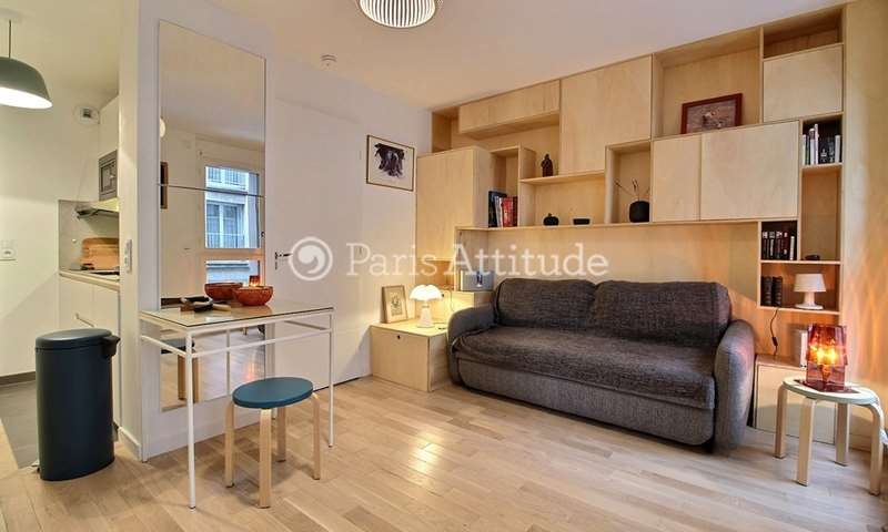 Rent Apartment Studio 25m² rue de Pouy, 75013 Paris