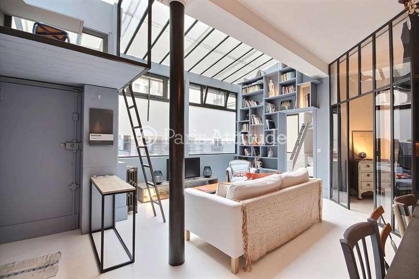 Aluguel Loft mobiliado 2 quartos 58m² rue de Rochechouart, 75009 Paris