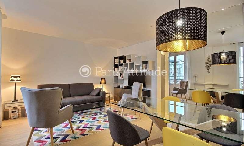 Rent Apartment 1 Bedroom 45m² rue Fremicourt, 15 Paris