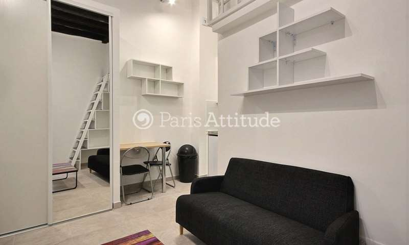 Rent Apartment Studio 15m² rue Saint Martin, 4 Paris