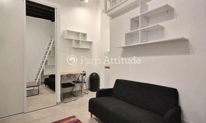 Aluguel Apartamento Quitinete 15m² rue Saint Martin, 75004 Paris