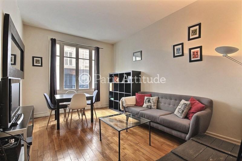 Location Appartement 1 Chambre 32m² rue Gabrielle, 75018 Paris