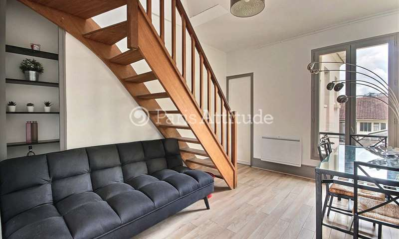 Rent Duplex 3 Bedrooms 54m² rue du Commerce, 15 Paris