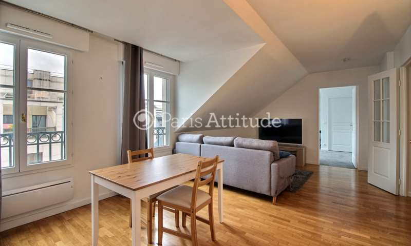 Rent Apartment 1 Bedroom 47m² rue d Arsonval, 75015 Paris