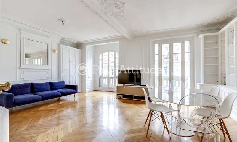 Rent Apartment 3 Bedrooms 104m² rue Jean de la Fontaine, 75016 Paris