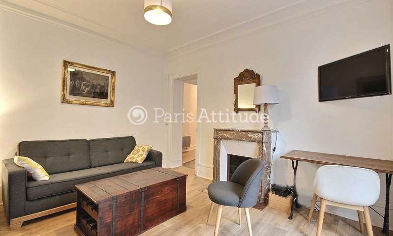 Rent Apartment 1 Bedroom 40m² rue de Panama, 75018 Paris
