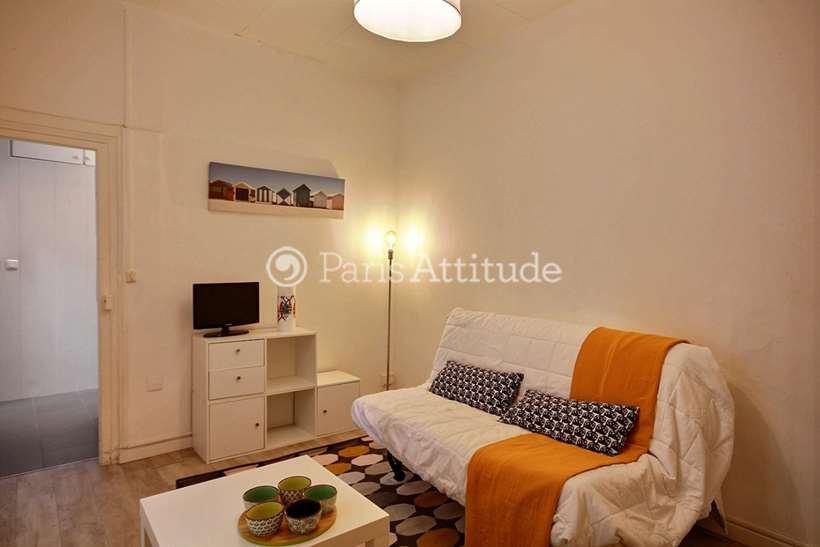 Louer Appartement meublé Studio 19m² rue Mademoiselle, 75015 Paris