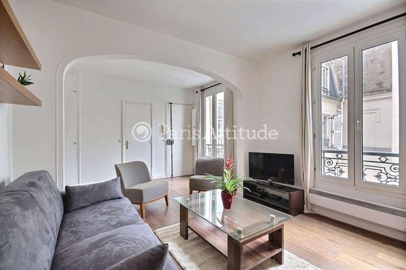 Rent furnished Apartment 1 Bedroom 35m² Rue Madeleine Michelis, 92200 Neuilly sur Seine