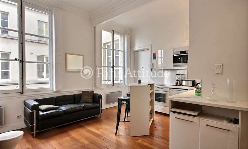 Rent Apartment 1 Bedroom 40m² rue de Sevigne, 4 Paris