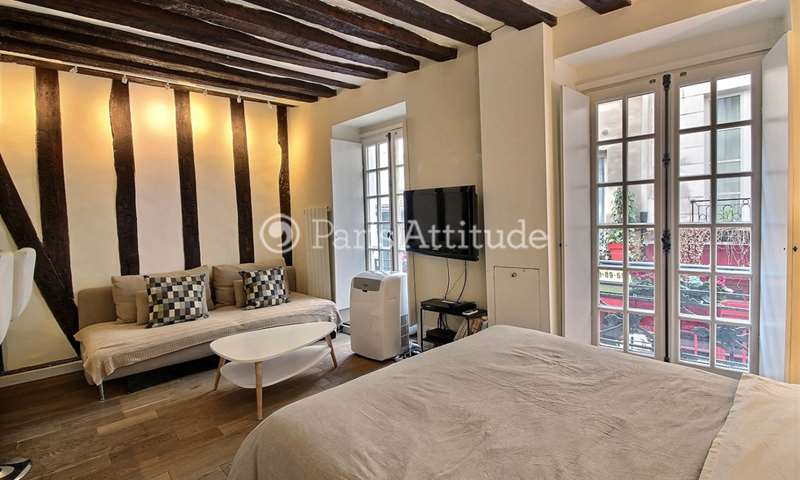 Location Appartement Studio 28m² rue Guisarde, 6 Paris