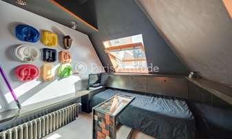 Location Appartement Studio 12m² rue du Four, 6 Paris