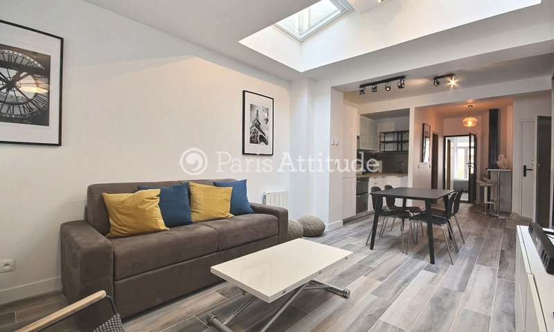 Rent Apartment 1 Bedroom 66m² rue du Volga, 75020 Paris