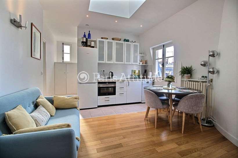 Louer Appartement meublé 2 Chambres 43m² rue Davioud, 75016 Paris