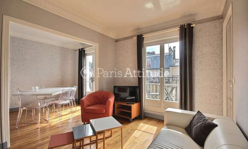 Rent Apartment 1 Bedroom 51m² rue Ordener, 75018 Paris