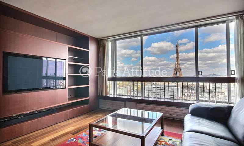 Rent Apartment 2 Bedroom 77m² rue emeriau, 75015 Paris
