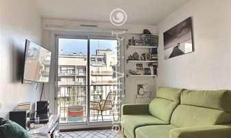 Rent Apartment Studio 18m² rue Orfila, 20 Paris