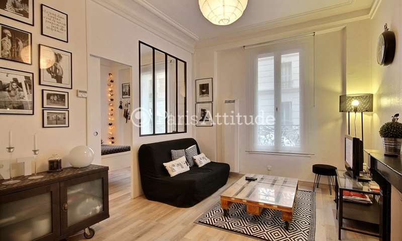 Rent Apartment 1 Bedroom 40m² rue des Entrepreneurs, 15 Paris