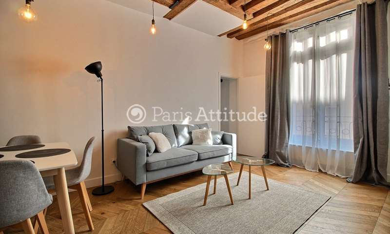 Rent Apartment 1 Bedroom 42m² rue Tiquetonne, 2 Paris
