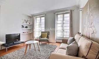 Rent Apartment 1 Bedroom 37m² rue Yvonne le Tac, 18 Paris