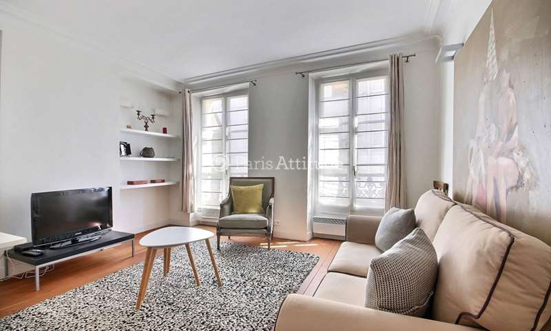 Rent Apartment 1 Bedroom 37m² rue Yvonne le Tac, 75018 Paris