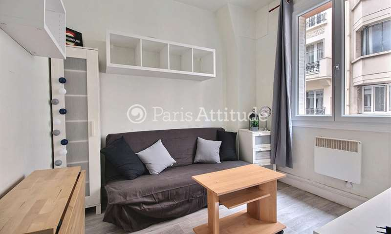 Rent Apartment Studio 12m² rue Le Marois, 16 Paris
