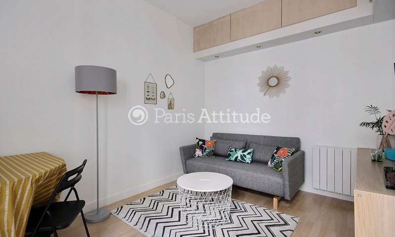 Rent Apartment 1 Bedroom 33m² rue du Capitaine Marchal, 75020 Paris