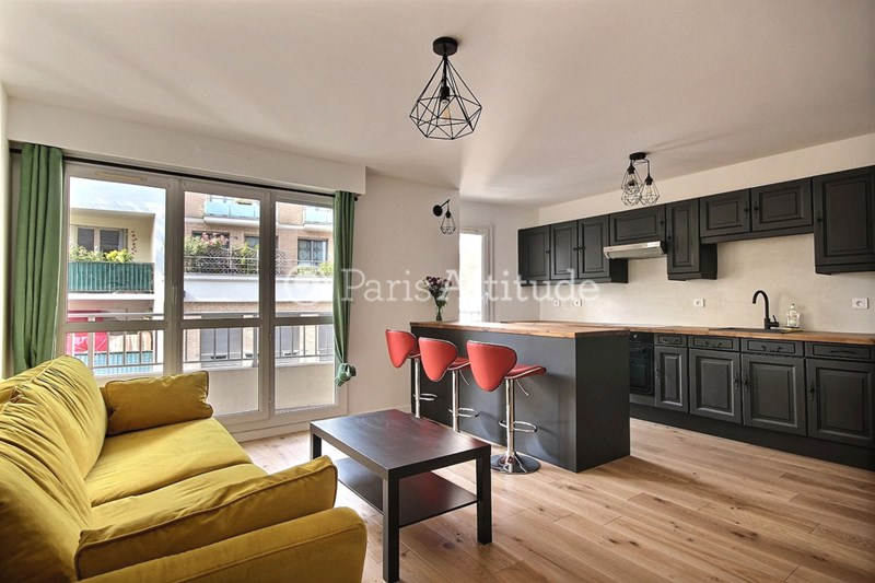Rent Apartment 1 Bedroom 47m² rue Villiers de l Isle Adam, 75020 Paris
