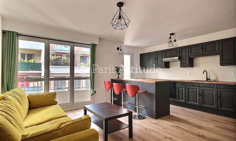 Rent Apartment 1 Bedroom 47m² rue Villiers de l Isle Adam, 20 Paris