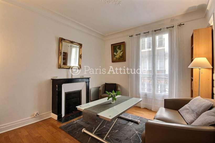 Rent furnished Apartment 1 Bedroom 26m² rue Troyon, 75017 Paris