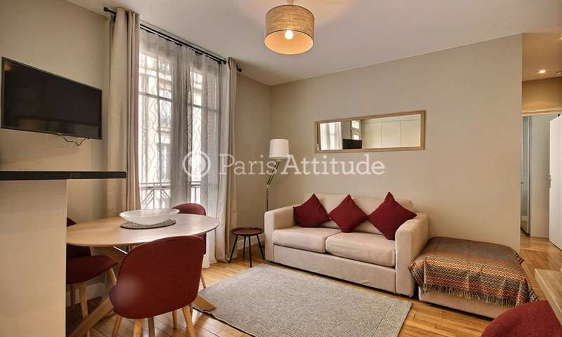 Rent Apartment 1 Bedroom 42m² square Jouvenet, 16 Paris