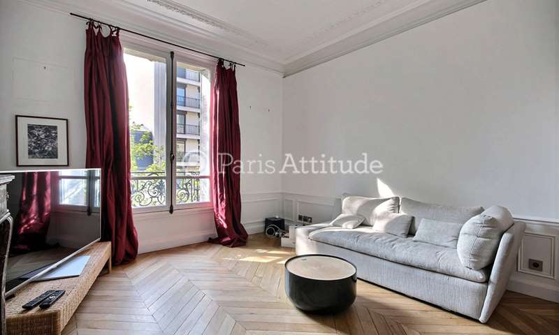 Rent Apartment 1 Bedroom 63m² avenue Victor Hugo, 16 Paris