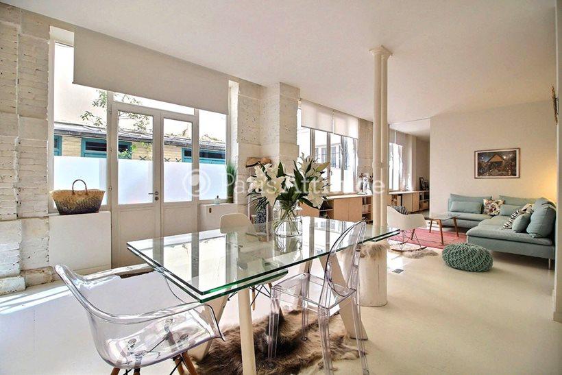 Rent furnished Apartment 2 Bedrooms 91m² rue du Temple, 75003 Paris