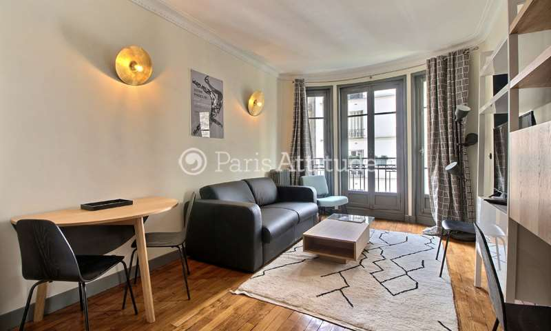Rent Apartment 1 Bedroom 32m² villa Dancourt, 75018 Paris