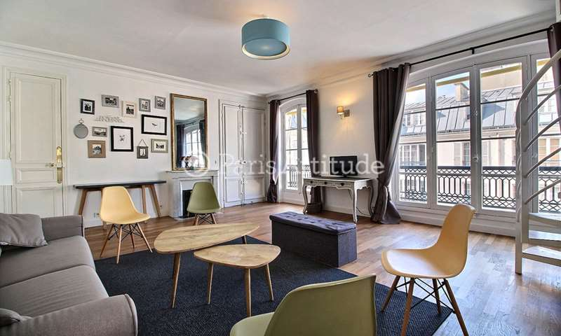 Rent Duplex 1 Bedroom 59m² rue du Cirque, 75008 Paris