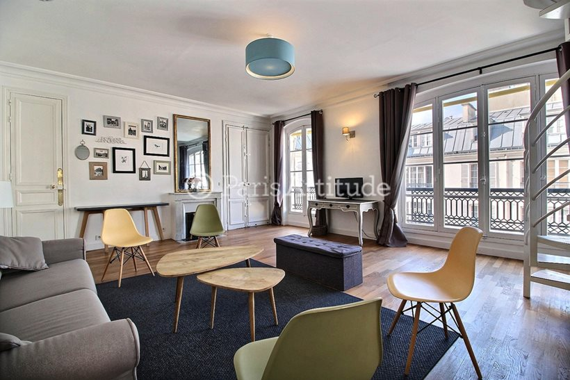 Rent furnished Duplex 1 Bedroom 59m² rue du Cirque, 75008 Paris
